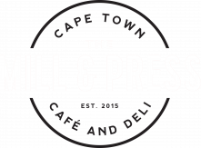 The mill and press logo white